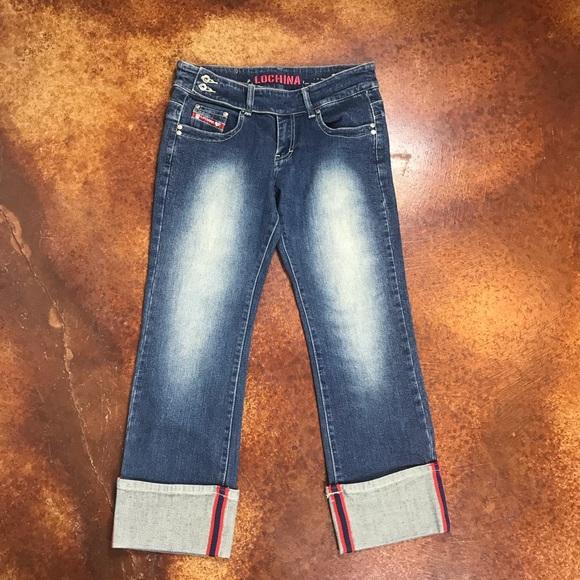 lochina Denim - Lochina 30 reviver rare denim cropped cuffed jeans